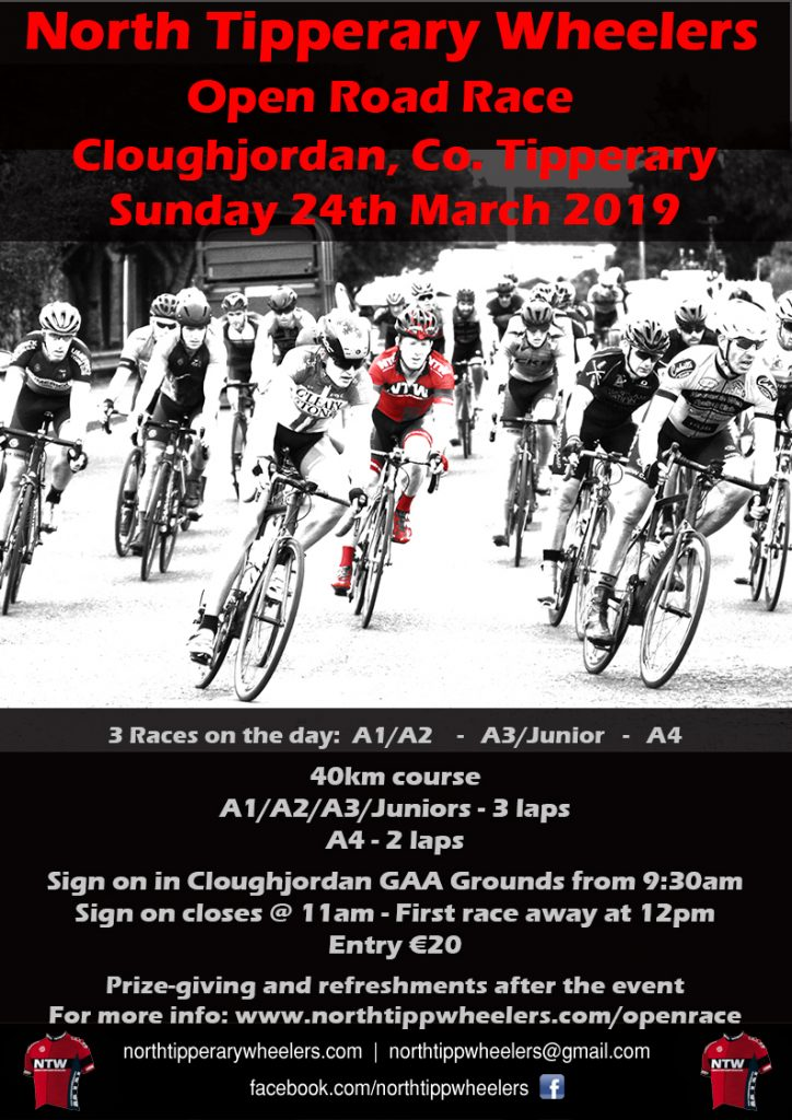 NTW Open Road Race | North Tipperary Wheelers